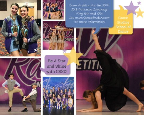 2017-2018 Nationals Company Auditions