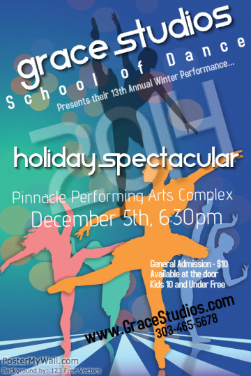 Holiday Spectacular 2014 Poster