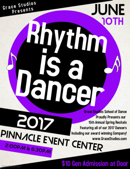Rhythm Is A Dancer Poster